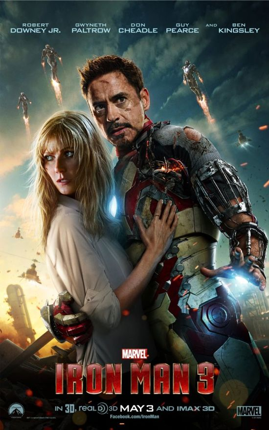 Iron Man 3 with Pepper Potts Pos