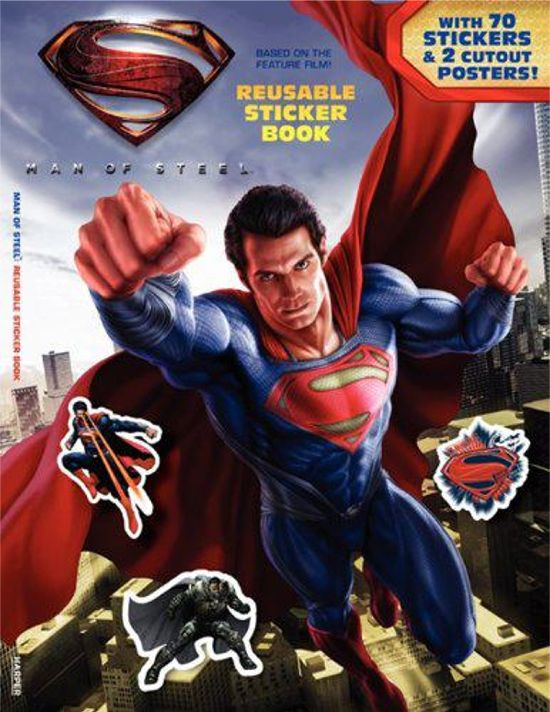 Man of Steel Sticker Book