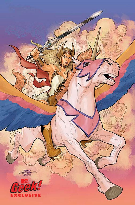 she ra comic books