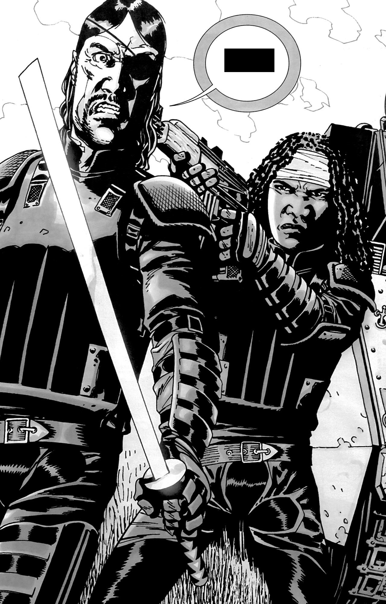 the walking dead five iconic scenes from the comics that