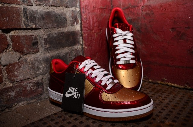 Nike Air Force One Downtown Iron Man shoes