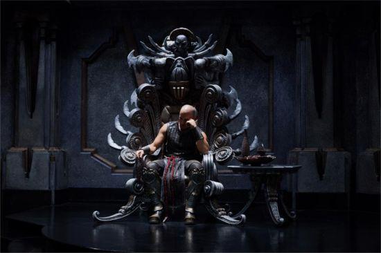 Vin Diesel Talks Riddick Trailer Amp Melkor