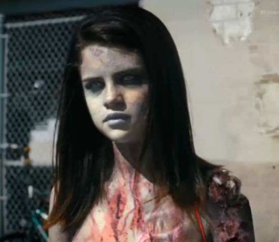 Selana Gomez zombie The Walking Dead