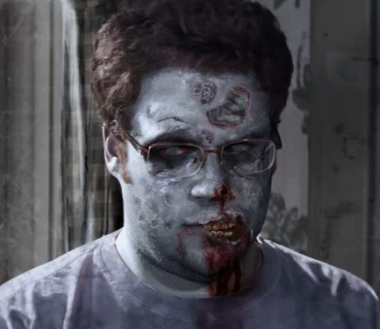 Seth Rogen zombie The Walking Dead