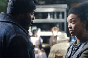 Walking Dead season 3 finale Tyreese & Sasha