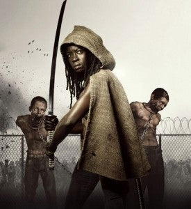 Who are Michonne's pets?
