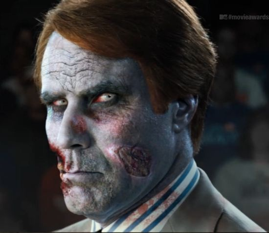 Will Ferrell Celebrity Zombie The Walking Dead