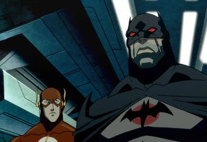 Flashpoint Batman from the DVD movie