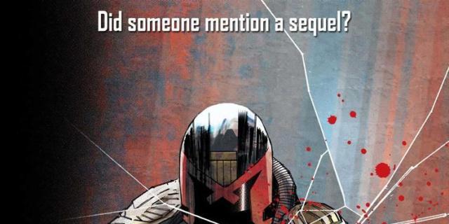Dredd Comic Book Sequel