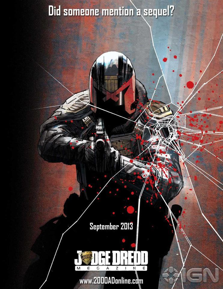 Dredd Sequel Reportedly Still Not Dead at Rebellion
