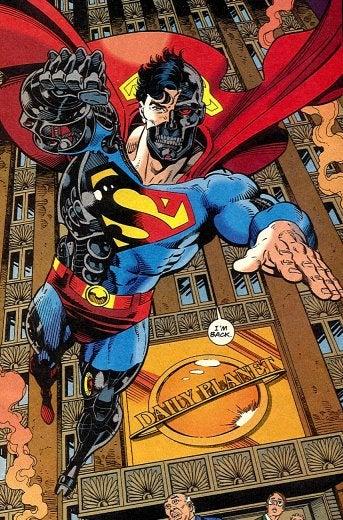... Cyborg Supe... Cyborg Superman New 52