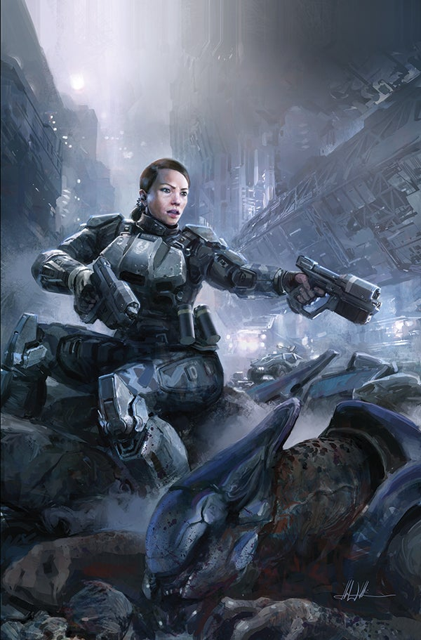 Official Halo Comics C2e2 Halo Comics Coming From