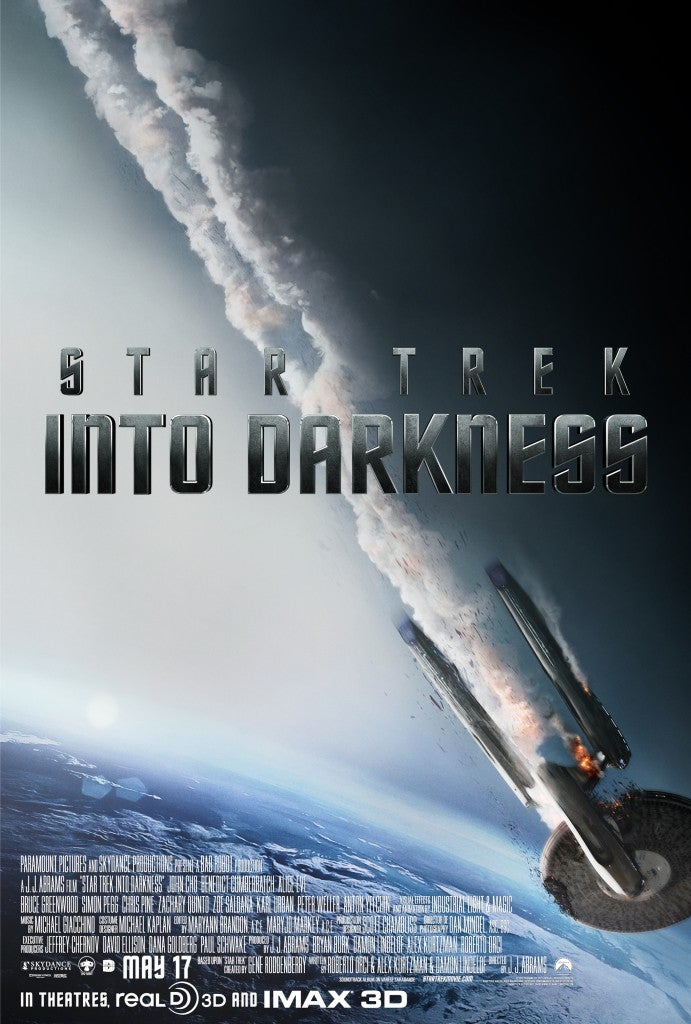 Star Trek Into Darkness Debuts New Poster--Trailer Coming Tuesday