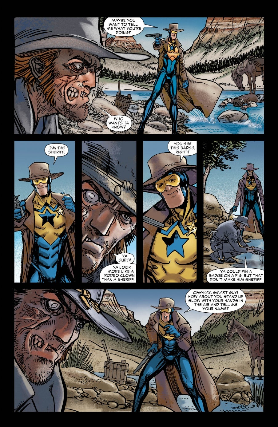 Dc Comics Preview Booster Gold In All Star Western 19