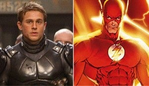Charlie Hunnam as Flash
