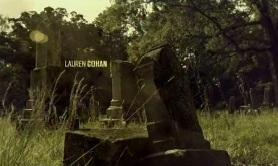 Walking Dead Credits Lauren Cohan