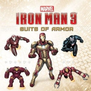 Iron Man 3 Suits Of Armor