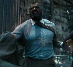 Laurence Fishburne Man of Steel