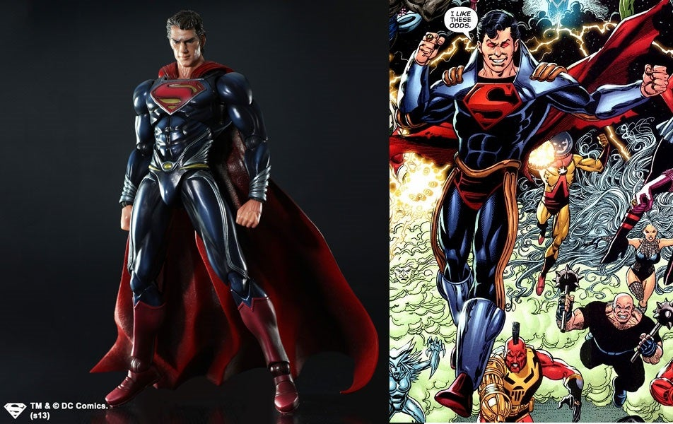 Some Recent work on MAN OF STEEL Movie accurate suit