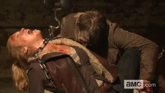 Walking Dead Andrea Alternate Death Scene