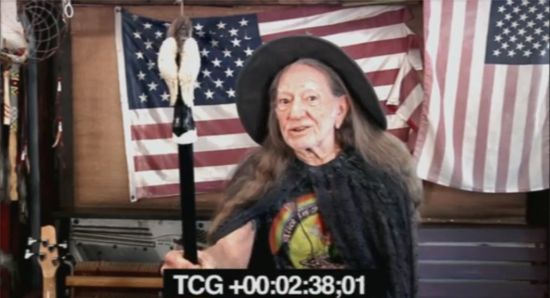 Willie Nelson Auditions For The Hobbit 2 Video