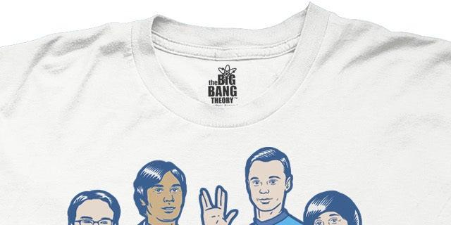 Ripple Junction - The Big Bang Theory Star Trek Tee