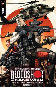 Bloodshot and HARD Corps #14