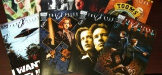 X-Files variant covers