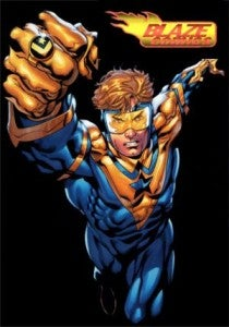 Booster Gold Blaze Comics