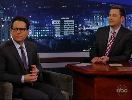 JJ Abrams & Jimmy Kimmel