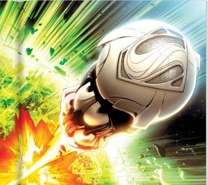 Krypton explodes in Man of Steel junior novelization