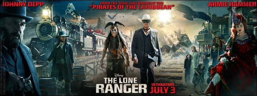 The Lone Ranger - New Trailer Now Online