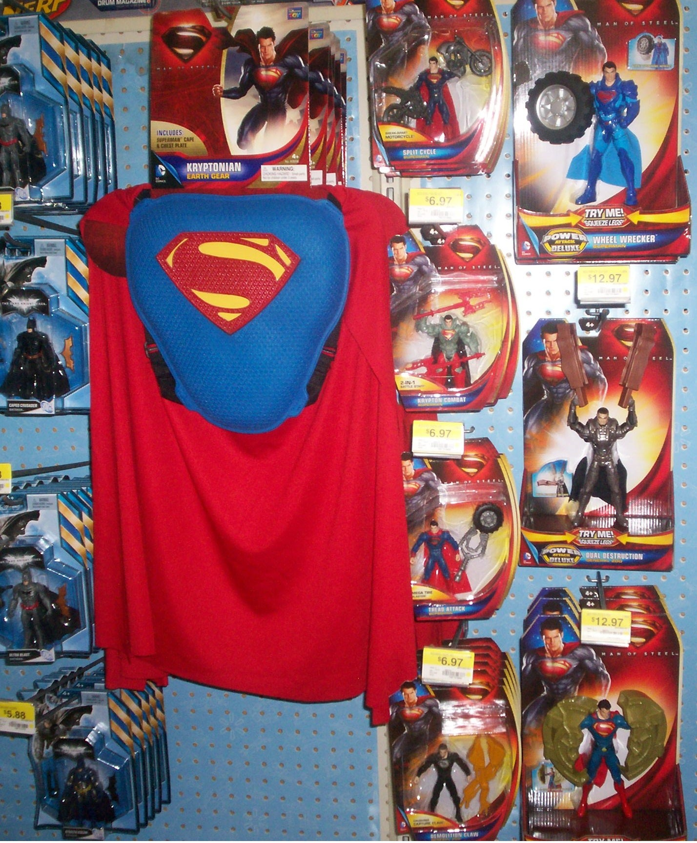 Man of Steel: What to Expect From the Toy Line