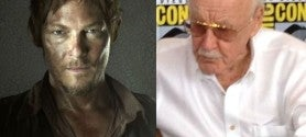 Norman Reedus & Stan Lee