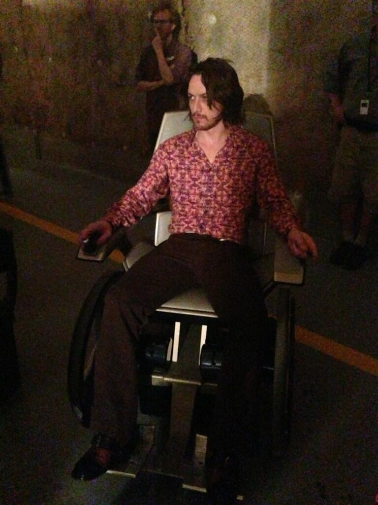 Days of Future Past: First Look at James McAvoy As Professor X
