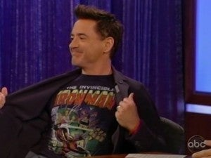 Robert Downey Jr. Jimmy Kimmel Live