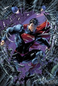 Superman Unchained #1 cover by Jim Lee