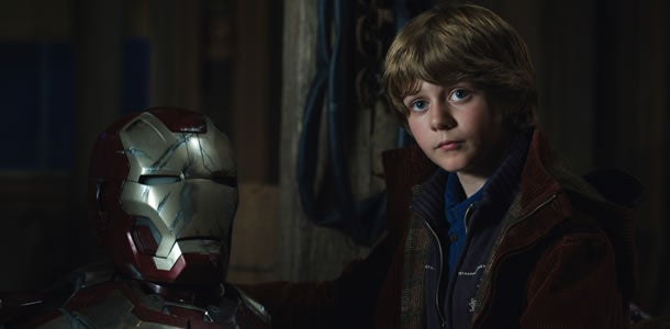 Ty Simpkins Screen Test For Iron Man 3 Released