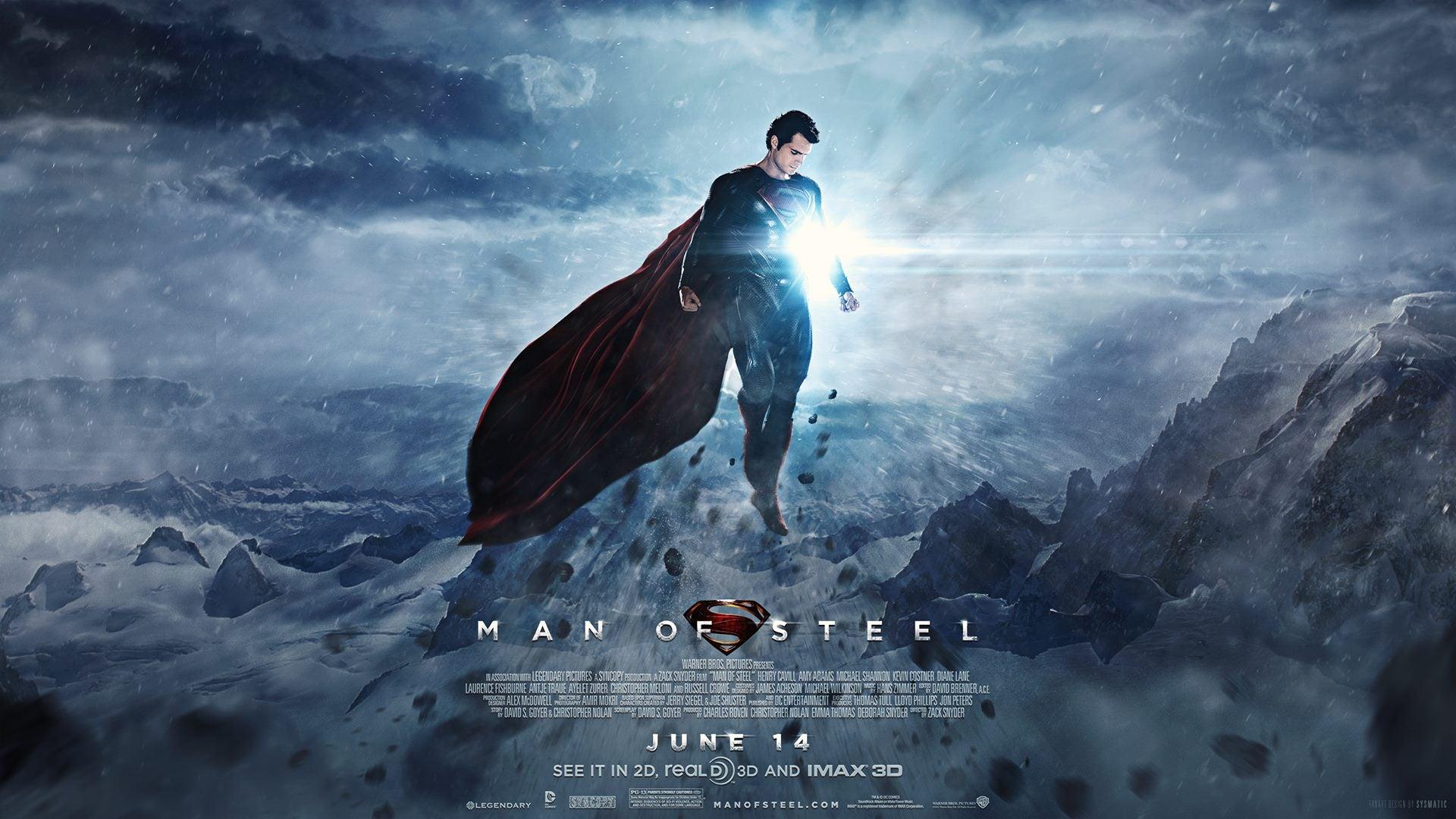 Ending Man of Steel Man of Steel Banner
