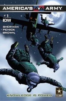 U S Army Teams With Idw Publishing For America S Army Comics