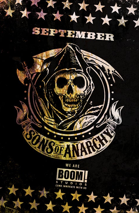 Sons of Anarchy Comic Book Announced