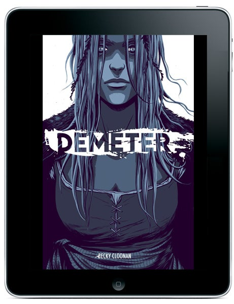 Batman conan artist becky cloonan brings demeter to comixology earlier today comixology announced that becky cloonans demeter would debut on the comixology submit service for small press comics fandeluxe Images