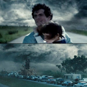 Man of Steel tornado