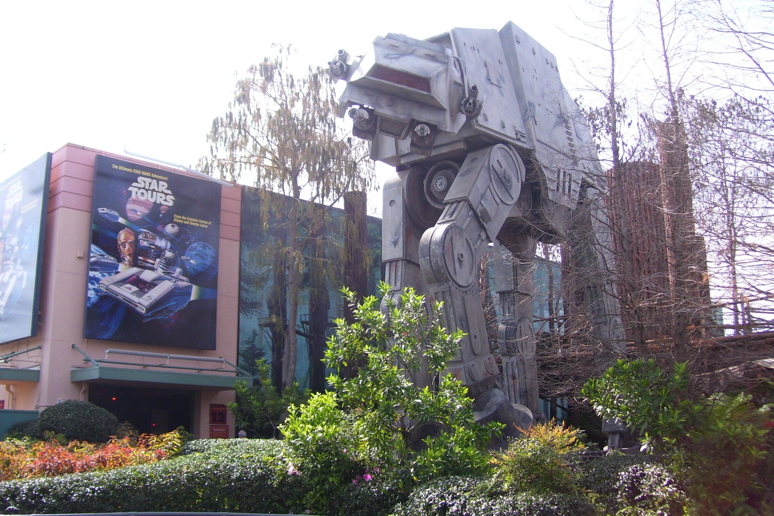 Disneyland Star Tours Build Date