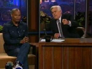 Jamie Foxx Tonight Show
