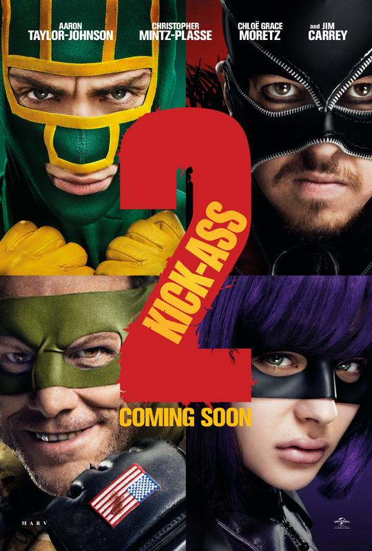 Jim Carrey Featured on New Kick-Ass 2 Poster