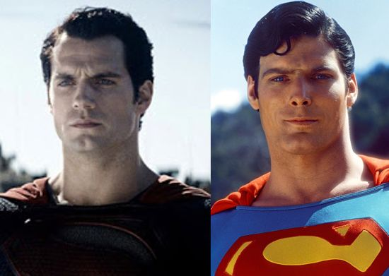 a Christopher Reeve Easter Henry Cavill Vs Christopher Reeve