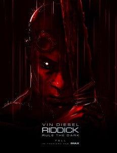 Riddick Comic-Con poster