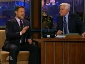 Russell Crowe & Jay Leno