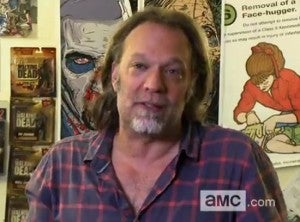 The Walking Dead Season 4 Premiere Greg Nicotero